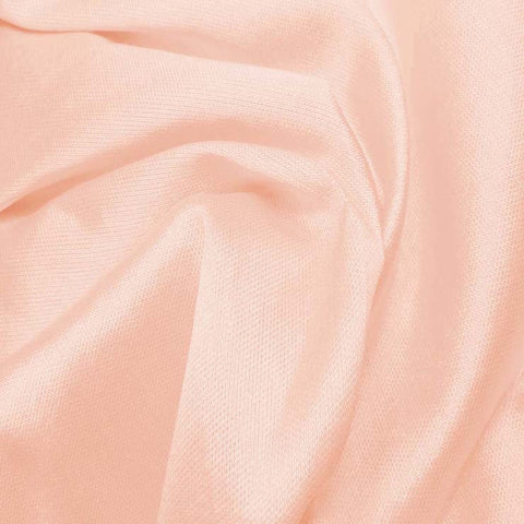 Silk Wool Fabric Pink
