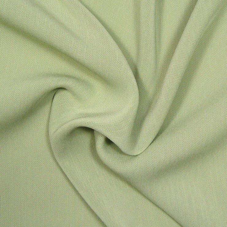Polyester/Triacetate Blend Jersey Pistachio