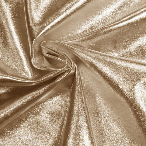 Metallic Lamb Leather Platinum - NY Fashion Center Fabrics