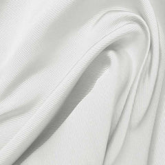 Silk Faille Pristine White
