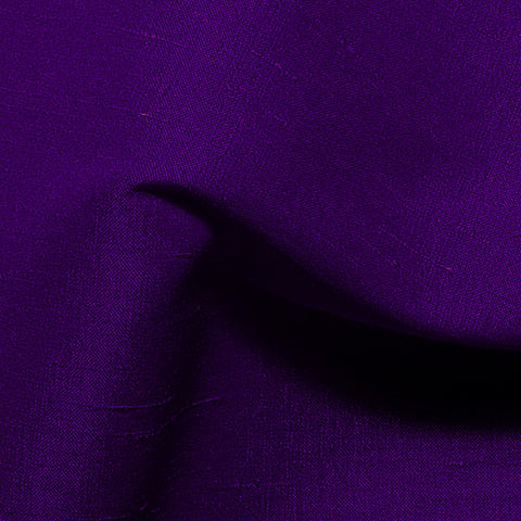 Polyester Stretch Shantung Purple