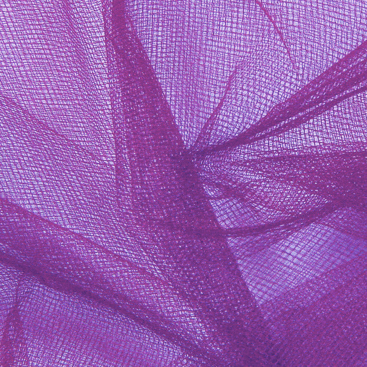 Nylon Tulle - 50 Yard Bolt Purple - NY Fashion Center Fabrics