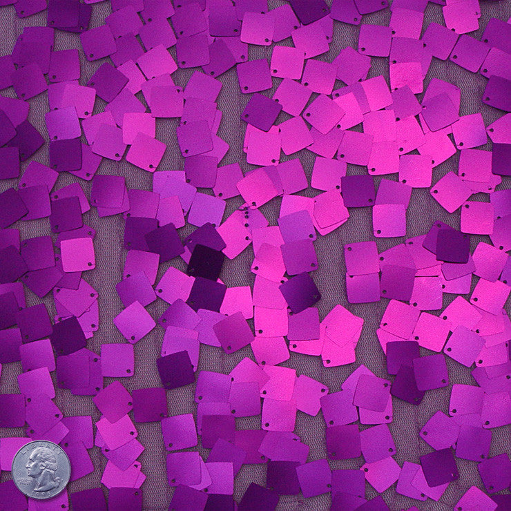 Scale Sequins Purple