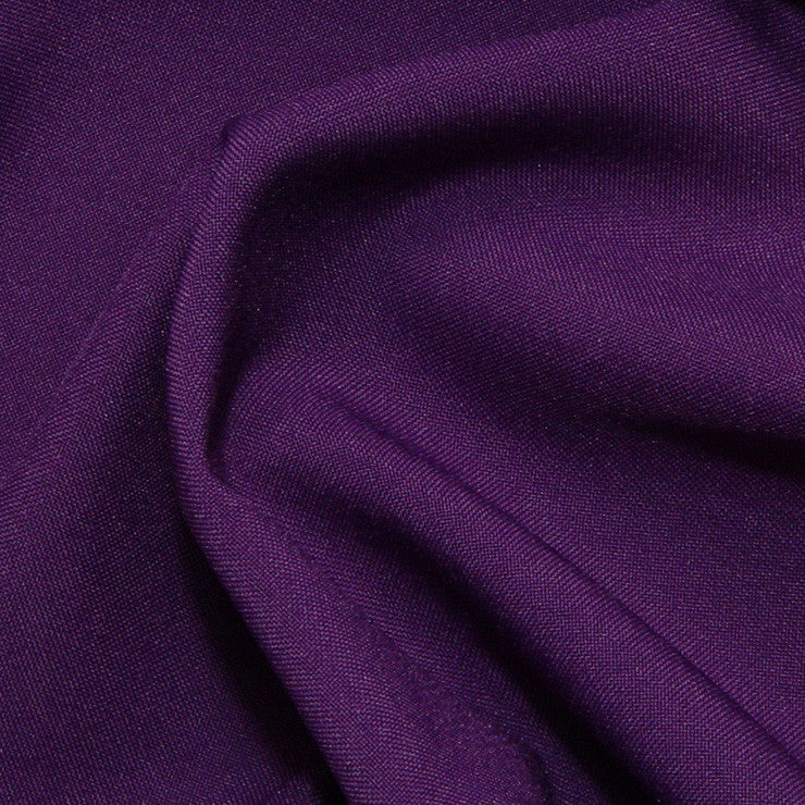 Polyester Poplin - 25 Yard Bolt Purple
