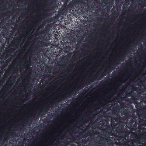 Bubble Lamb Leather Purple - NY Fashion Center Fabrics