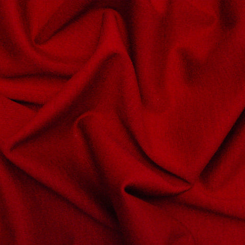 Polyester Ponte Red