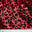 Flocked Cheetah Print Sequin Spandex Red - NY Fashion Center Fabrics