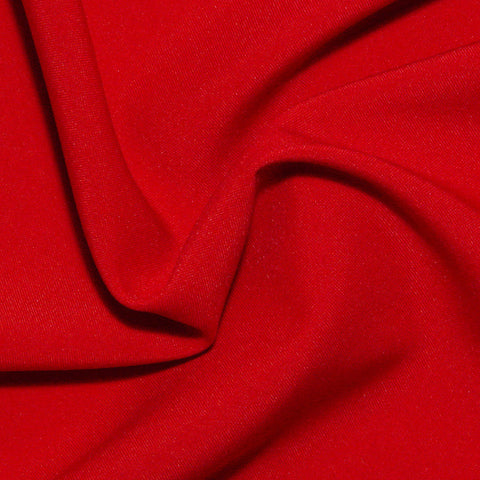Polyester Poplin - 25 Yard Bolt Red