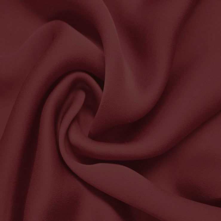 Satin Chiffon Fabric Red
