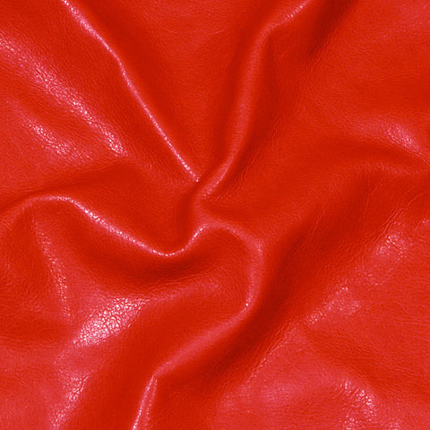 Executive leather Red - NY Fashion Center Fabrics
