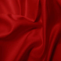 Pima Cotton Sateen Red