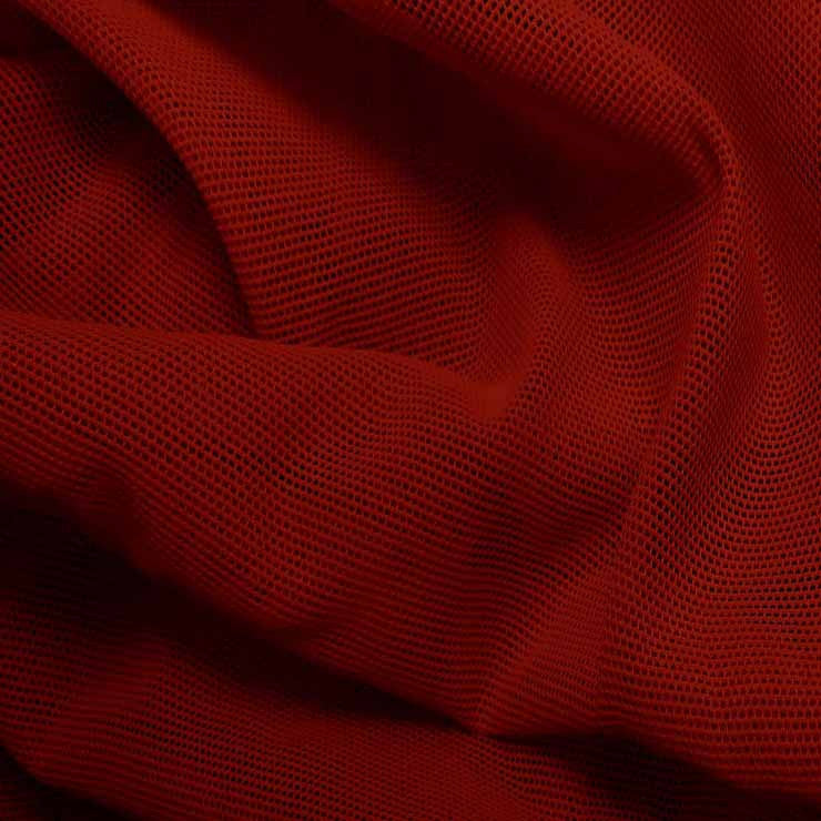 Nylon Powermesh Red - NY Fashion Center Fabrics