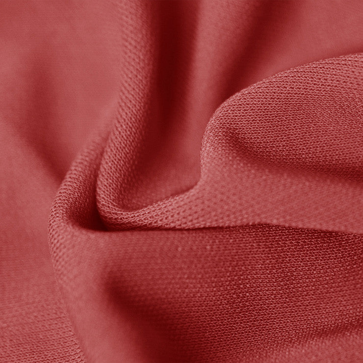 Viscose Rayon Matte Jersey Red