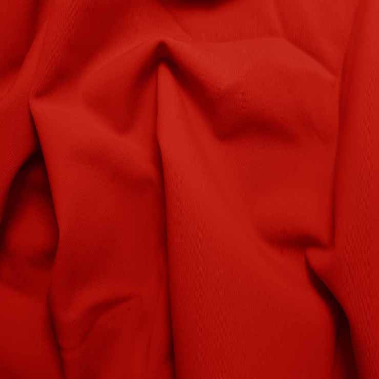 Solid Matte Spandex Red