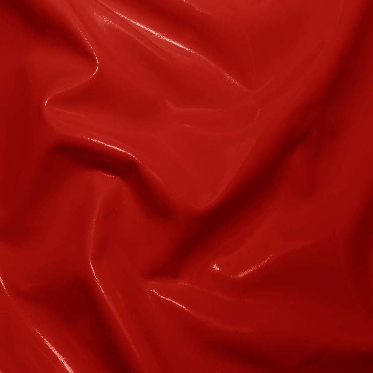 Solid PVC Vinyl Red