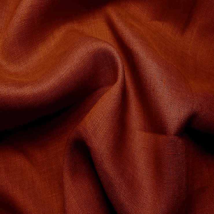 Handkerchief Linen Rust - NY Fashion Center Fabrics