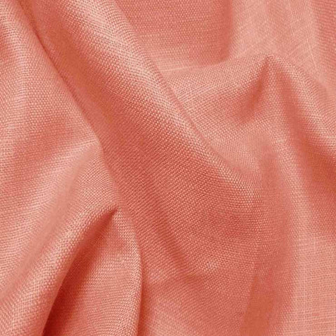 Lightweight Linen Salmon - NY Fashion Center Fabrics