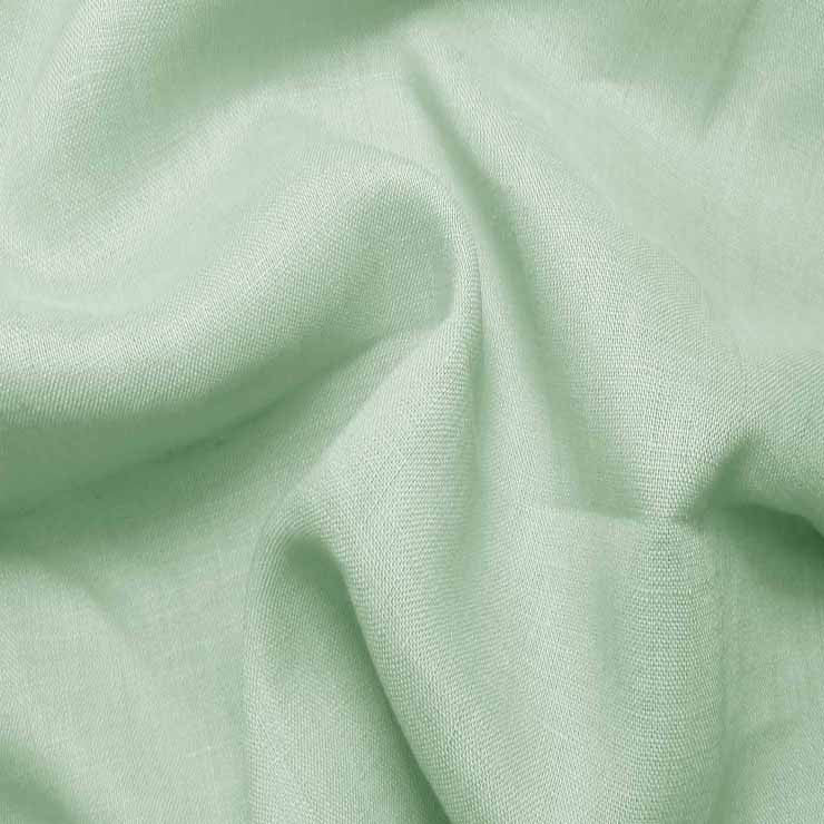 Handkerchief Linen Soft Emerald - NY Fashion Center Fabrics
