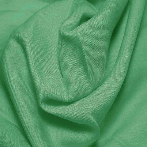 Cotton Blend Broadcloth - 30 Yard Bolt Sonic Green 588 - NY Fashion Center Fabrics