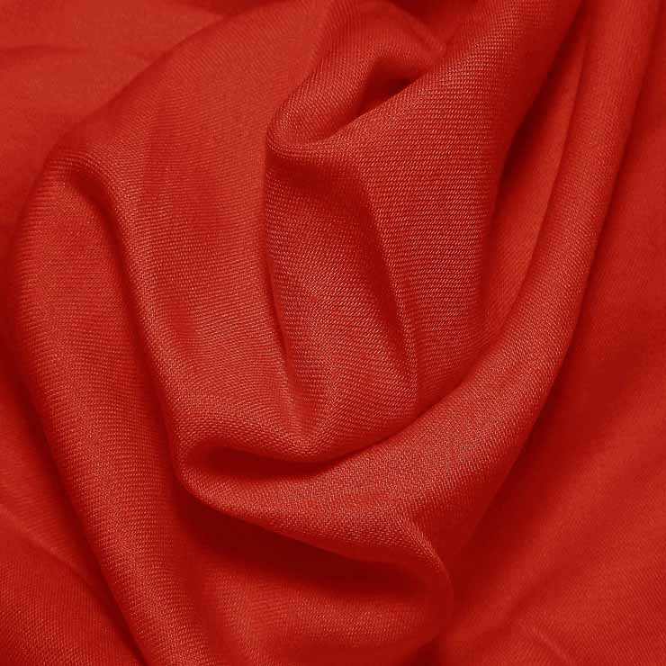 Cotton Blend Broadcloth - 30 Yard Bolt Stop Red 598 - NY Fashion Center Fabrics