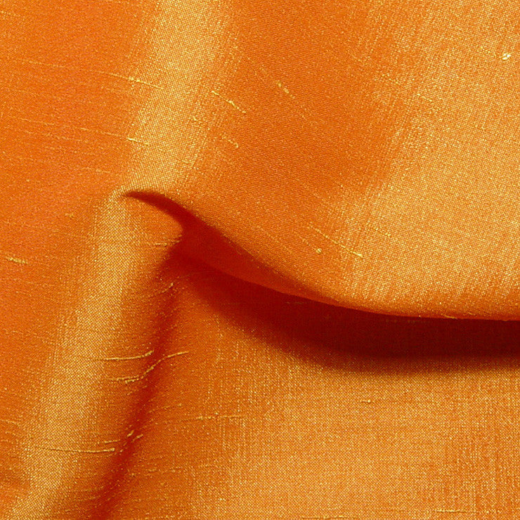 Polyester Stretch Shantung Sunflame