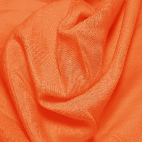 Cotton Blend Broadcloth - 30 Yard Bolt Tangerine 543 - NY Fashion Center Fabrics