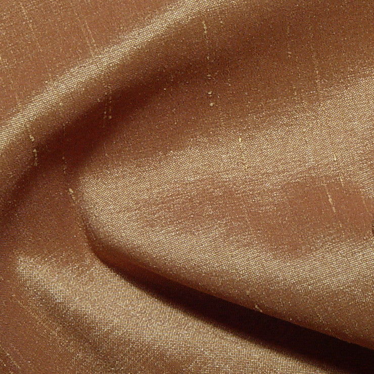 Polyester Stretch Shantung Taupe