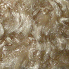 Polyester Stretch Poodle Faux Fur Taupe