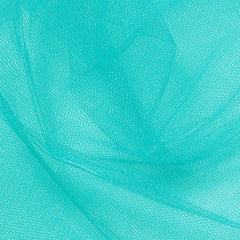 Nylon Tulle - 50 Yard Bolt Teal - NY Fashion Center Fabrics