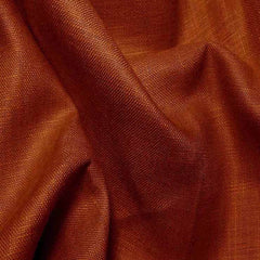 Lightweight Linen Terra Cotta - NY Fashion Center Fabrics