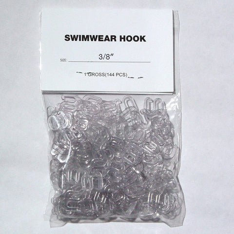 Swimwear Hook 3/8 Inch Three Eighths Inch