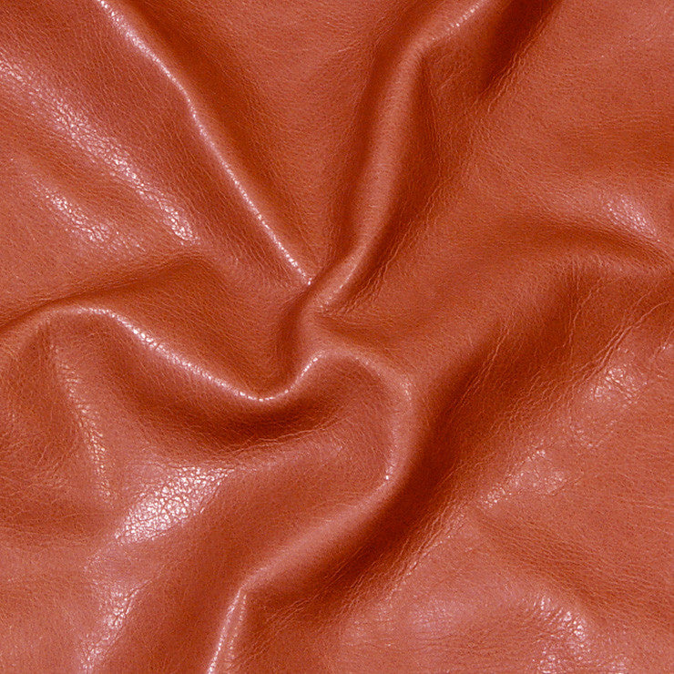Executive leather Tomato - NY Fashion Center Fabrics