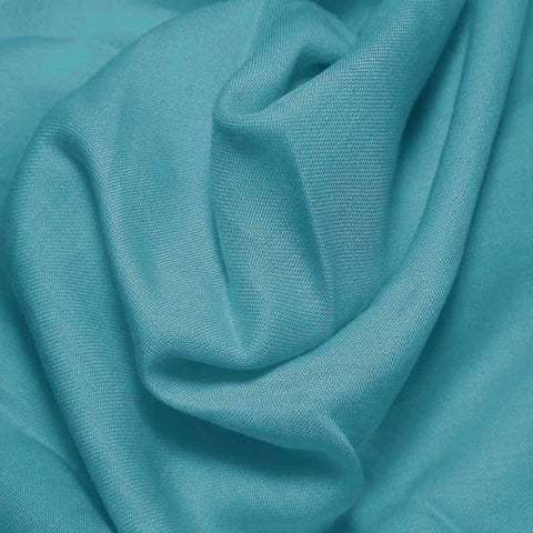 Cotton Blend Broadcloth - 30 Yard Bolt Turquoise 589 - NY Fashion Center Fabrics