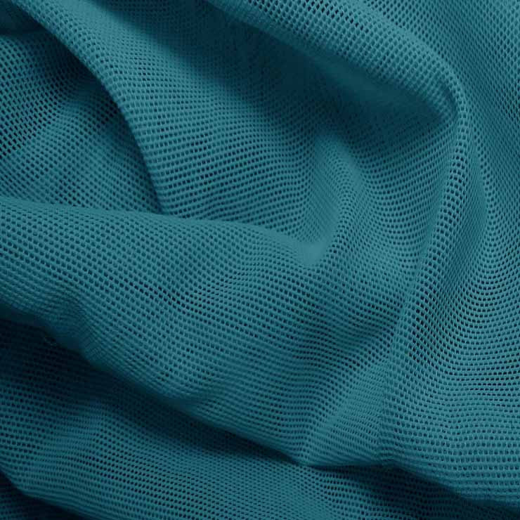 Nylon Powermesh Turquoise - NY Fashion Center Fabrics