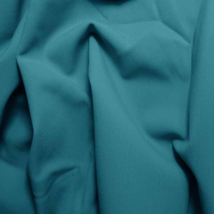 Solid Matte Spandex Turquoise