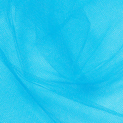 Nylon Tulle - 50 Yard Bolt Turquoise - NY Fashion Center Fabrics