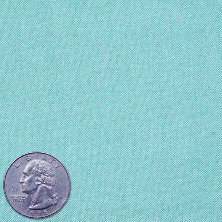 Pima Cotton English Pinpoint Oxford Turquoise