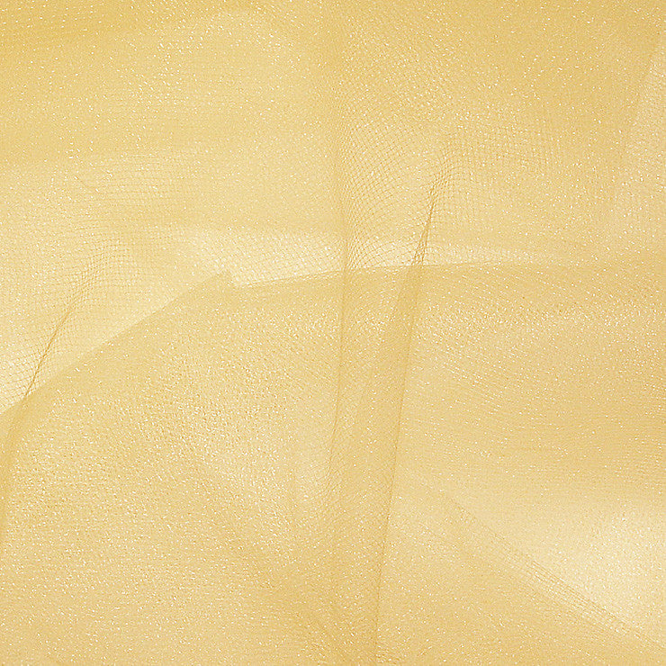 Nylon Tulle V Gold - NY Fashion Center Fabrics