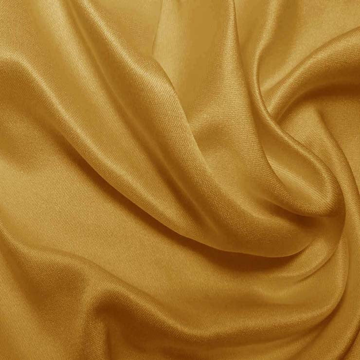Silk Double Face Satin Victorian Gold
