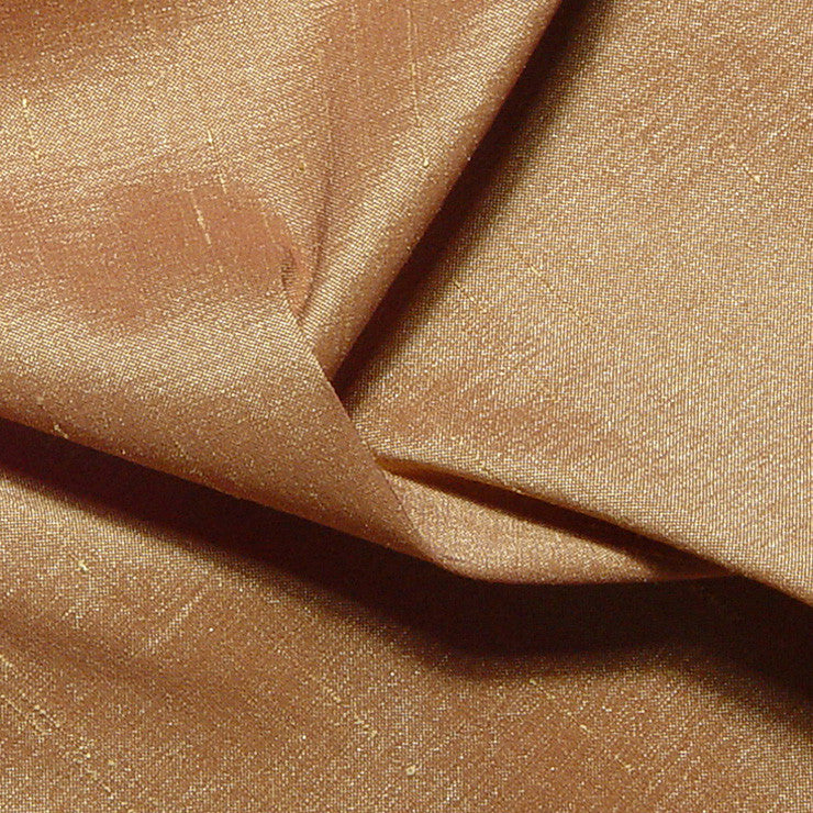 Polyester Stretch Shantung Wheat