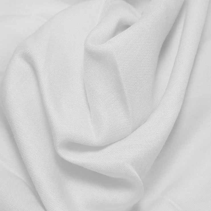 Cotton Blend Broadcloth - 30 Yard Bolt White 501 - NY Fashion Center Fabrics