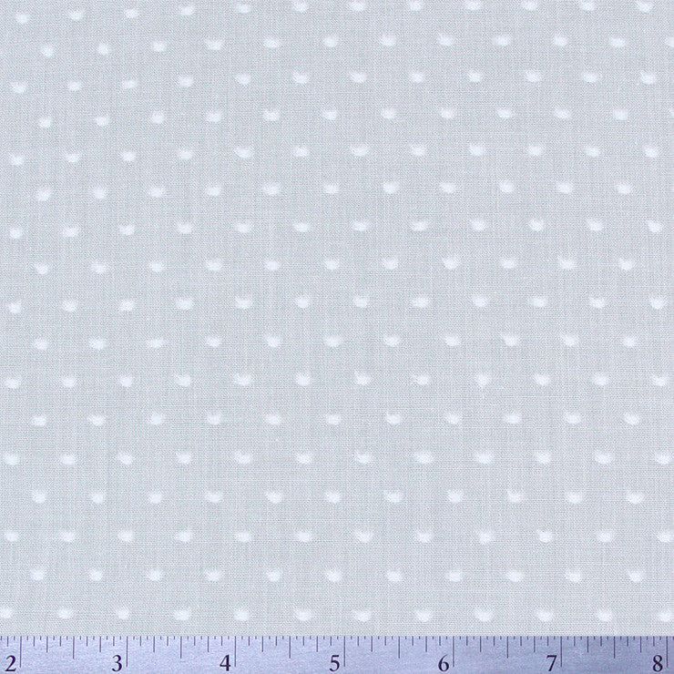 Cotton Swiss Dots - 15 Yard Bolt White - NY Fashion Center Fabrics