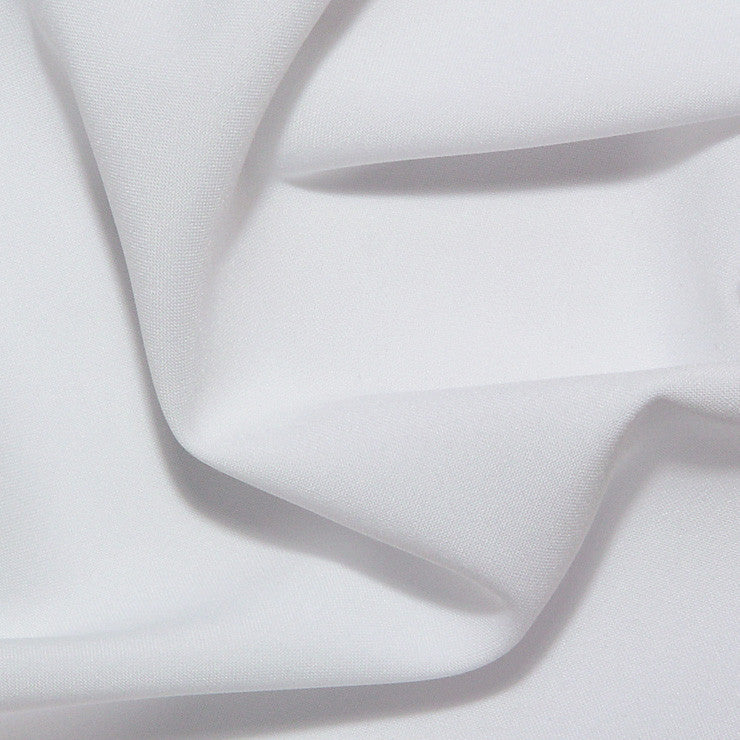 Polyester Poplin - 25 Yard Bolt White