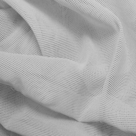 Nylon Powermesh White - NY Fashion Center Fabrics