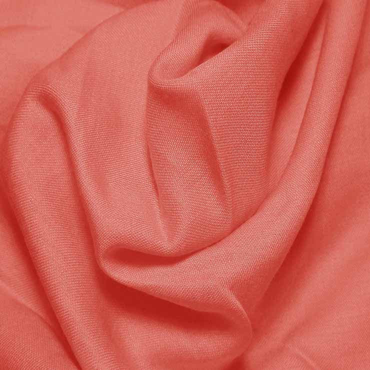 Cotton Blend Broadcloth - 30 Yard Bolt Wild Coral 538 - NY Fashion Center Fabrics