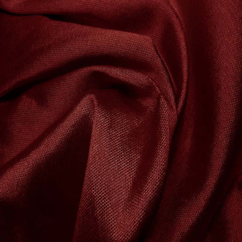 Silk Wool Fabric Wine