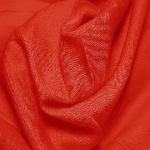 Cotton Blend Broadcloth - 30 Yard Bolt Xmas Red 597 - NY Fashion Center Fabrics