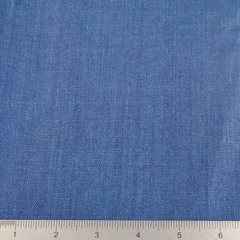 Linen Chambray YD 2009 143 Royal Denim - NY Fashion Center Fabrics