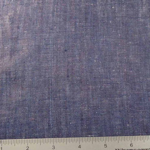 Linen Chambray YD 2009 144 Dark Denim - NY Fashion Center Fabrics