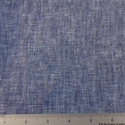 Linen Chambray YD 2009 149 Indigo Denim - NY Fashion Center Fabrics